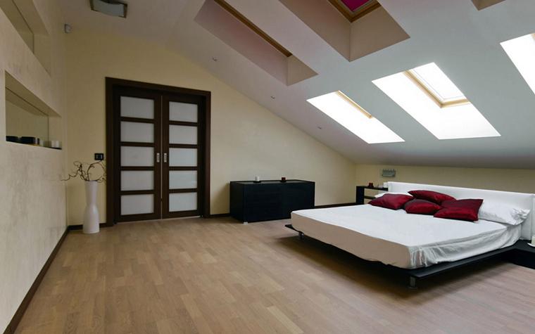 Квартира. спальня из проекта , фото №24782