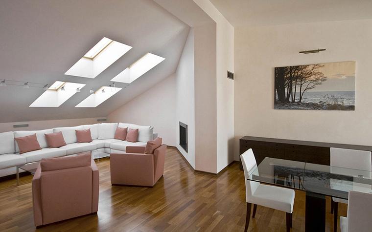 Квартира. гостиная из проекта , фото №24989