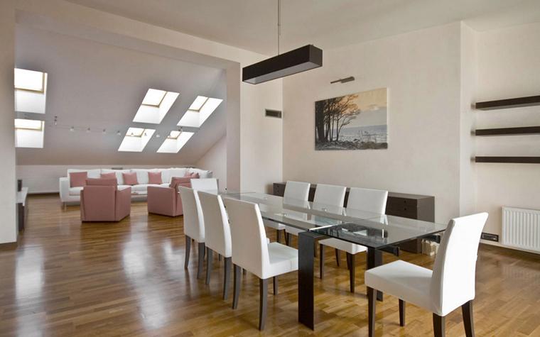 Квартира. столовая из проекта , фото №24991