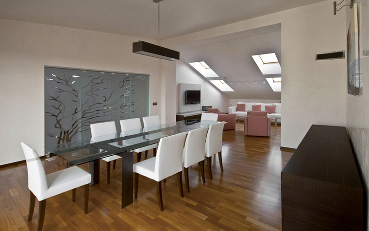 Квартира. столовая из проекта , фото №24992