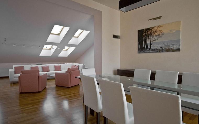 Квартира. столовая из проекта , фото №24993