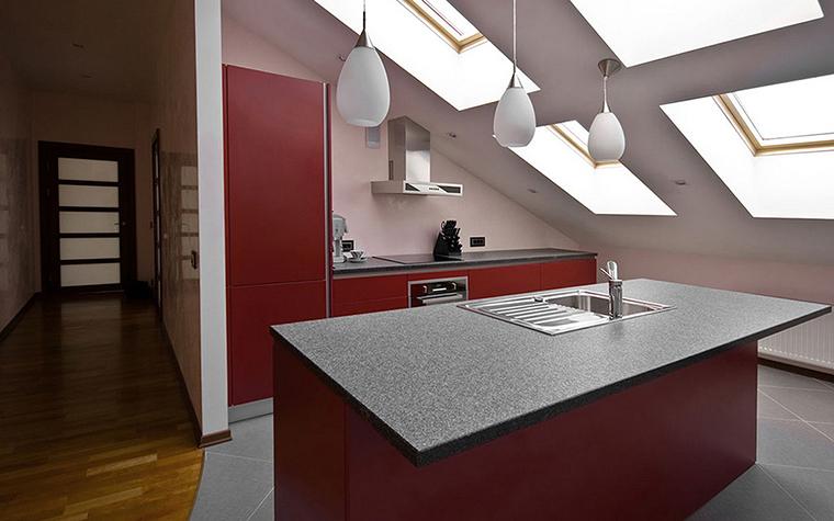Квартира. кухня из проекта , фото №24995