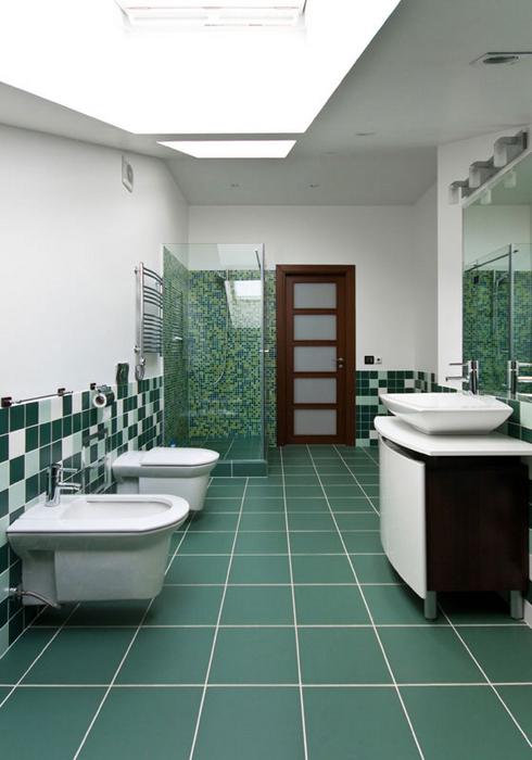 Квартира. ванная из проекта , фото №24998
