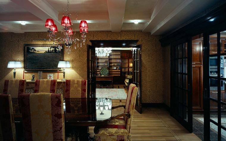 Квартира. столовая из проекта , фото №25239