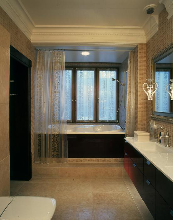 Квартира. ванная из проекта , фото №25236