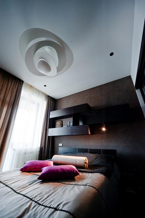 Квартира. спальня из проекта , фото №24926