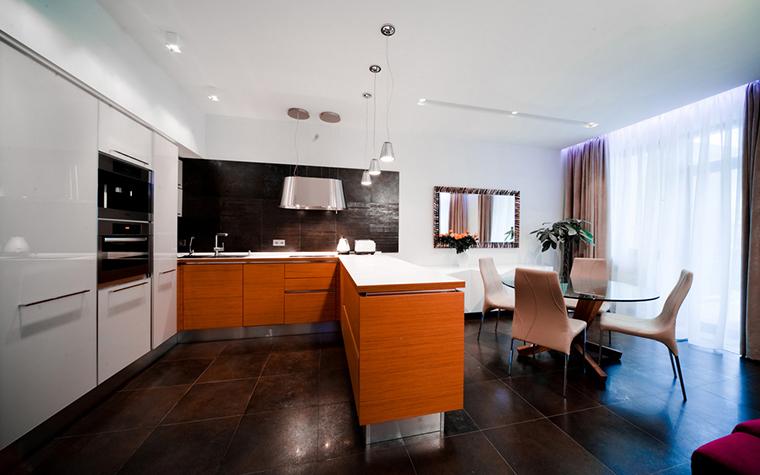 Квартира. кухня из проекта , фото №24922