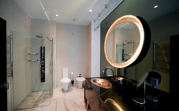 Квартира. ванная из проекта , фото №24929