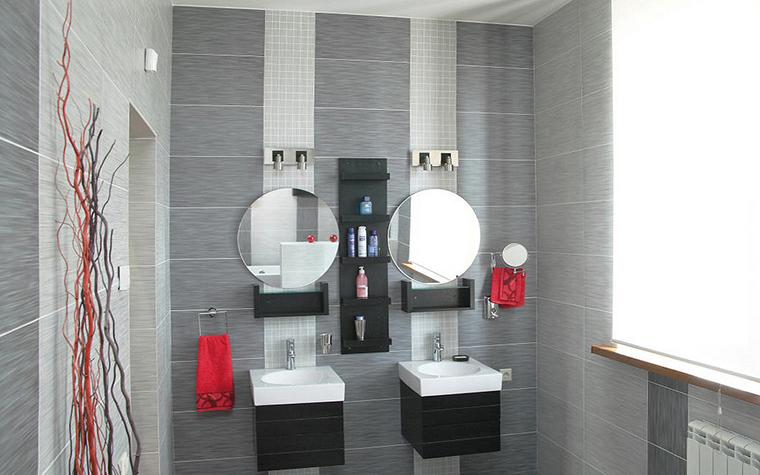 Квартира. ванная из проекта , фото №24938