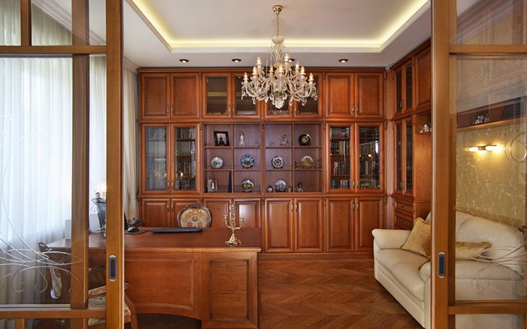 Фото № 25195 кабинет библиотека  Квартира