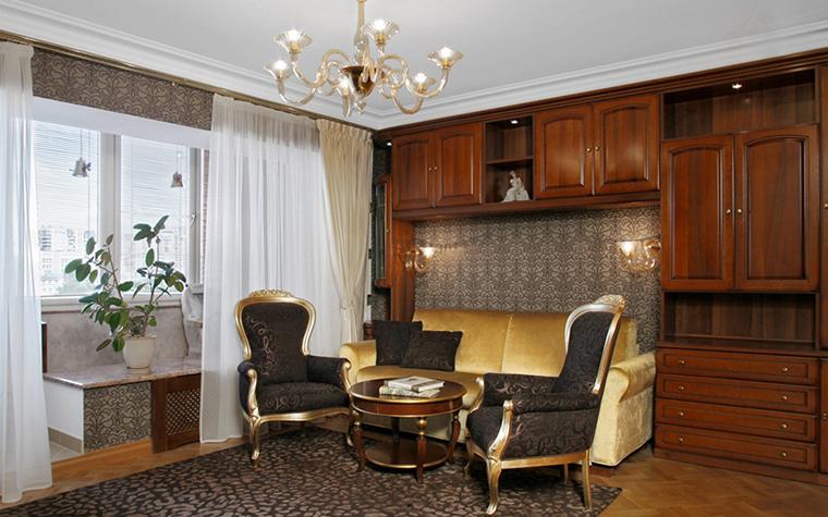 Квартира. гостиная из проекта , фото №24979