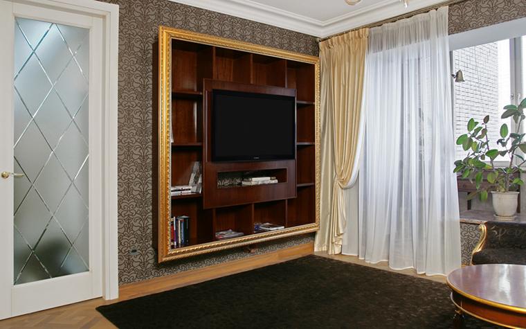 Квартира. гостиная из проекта , фото №24980