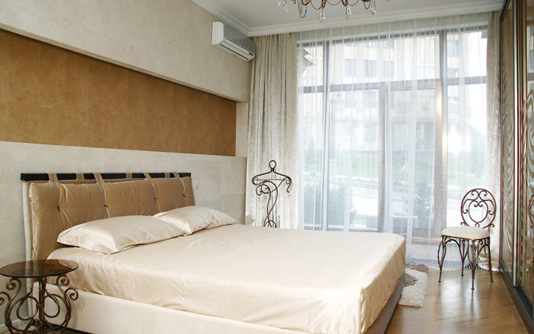Квартира. спальня из проекта , фото №25032