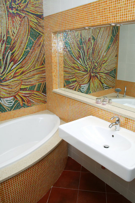 Квартира. ванная из проекта , фото №25034