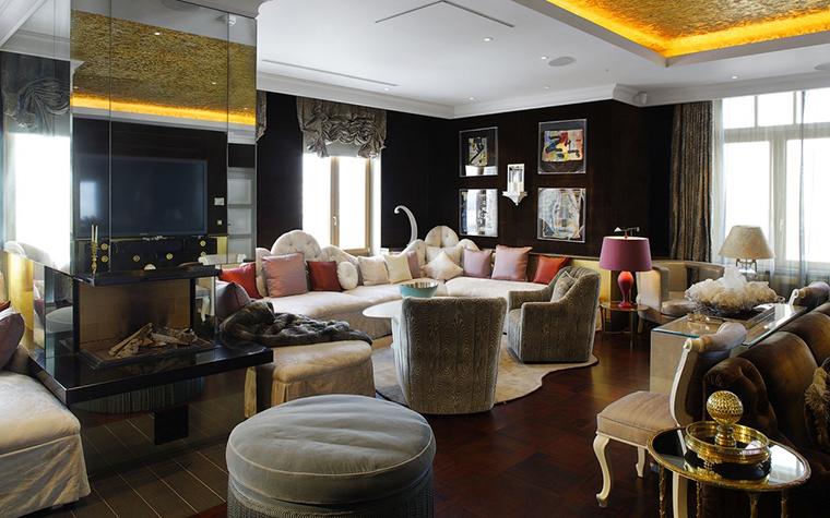 Квартира. гостиная из проекта , фото №25087