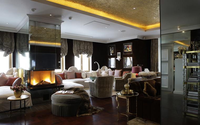 Квартира. гостиная из проекта , фото №25091