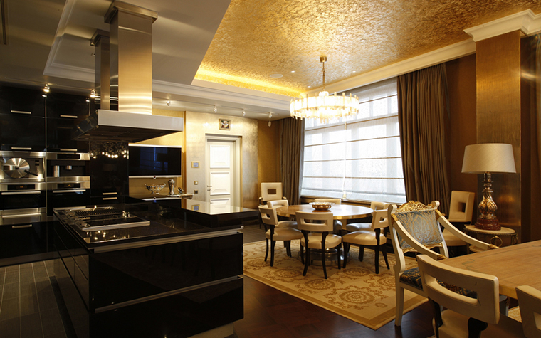 Квартира. кухня из проекта , фото №25107