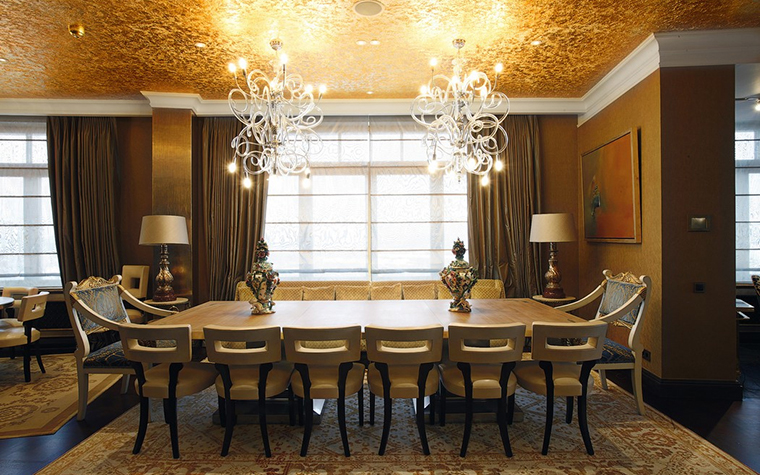 Квартира. столовая из проекта , фото №25101