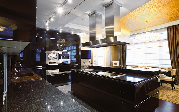 Квартира. кухня из проекта , фото №25108