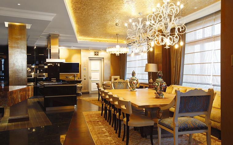 Квартира. столовая из проекта , фото №25102