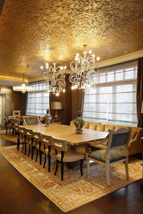 Квартира. столовая из проекта , фото №25103