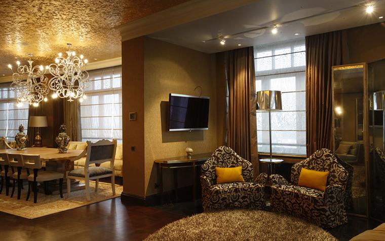 Квартира. гостиная из проекта , фото №25106