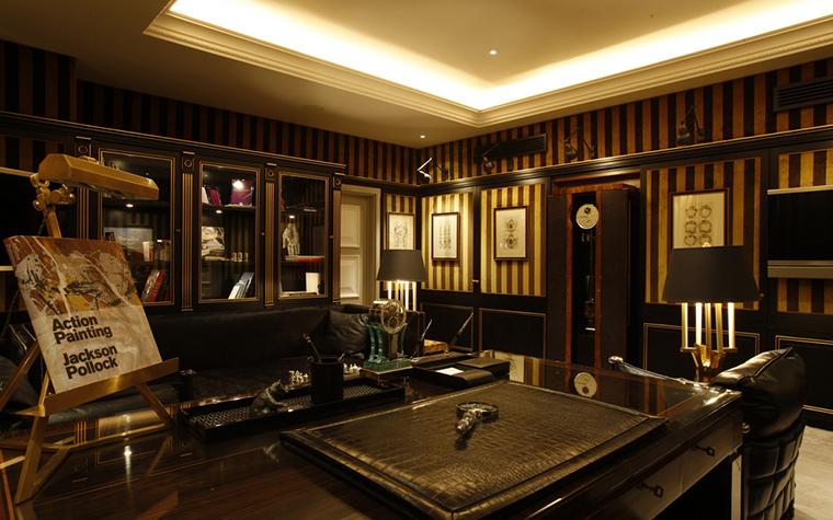 Квартира. кабинет из проекта , фото №25122
