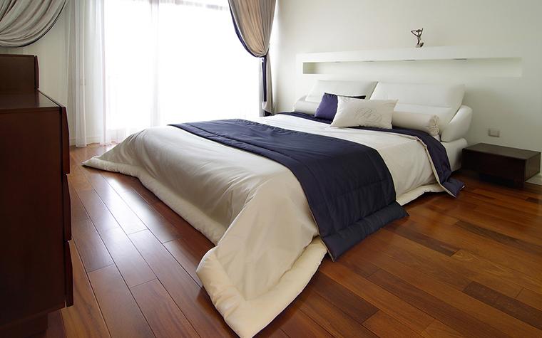 Квартира. спальня из проекта , фото №25316