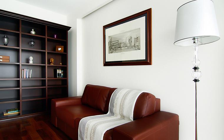Квартира. кабинет из проекта , фото №25325