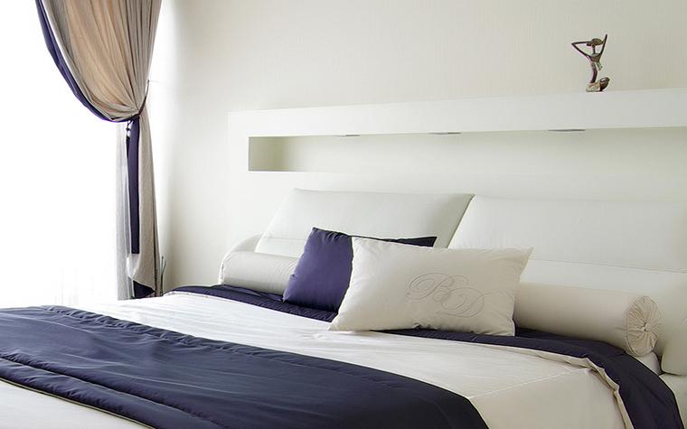 Квартира. спальня из проекта , фото №25317