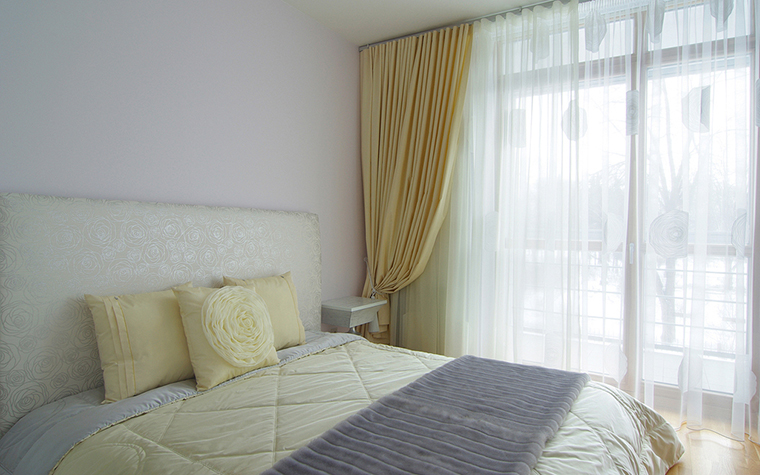 Квартира. спальня из проекта , фото №25413