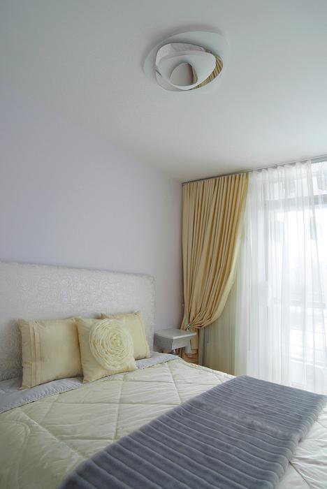 Квартира. спальня из проекта , фото №25414