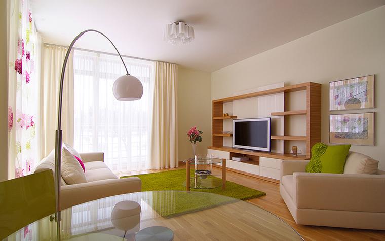 Квартира. гостиная из проекта , фото №25421