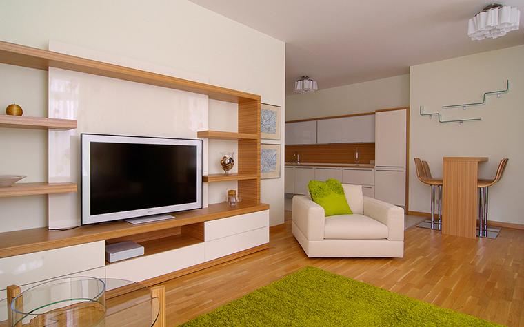 Квартира. гостиная из проекта , фото №25422