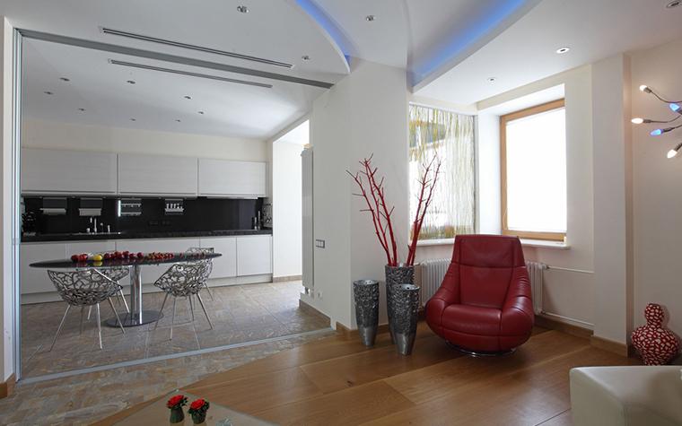 Квартира. гостиная из проекта , фото №25447