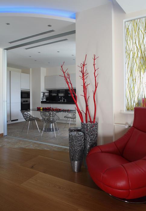 Квартира. кухня из проекта , фото №25454