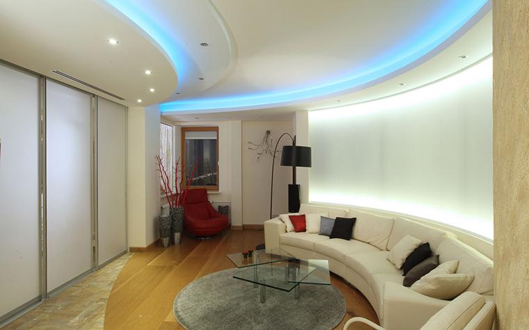Квартира. гостиная из проекта , фото №25435
