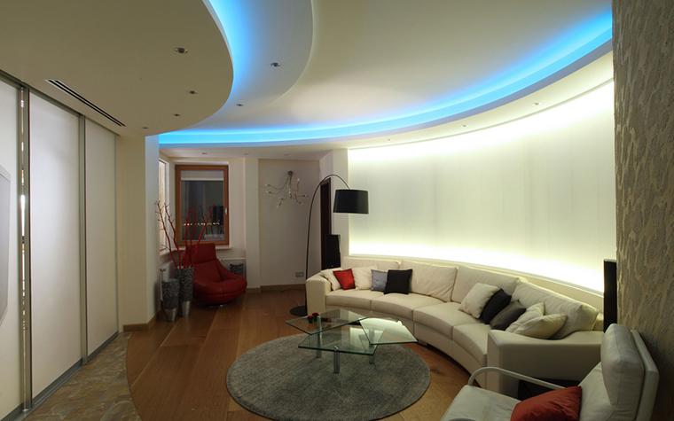 Квартира. гостиная из проекта , фото №25436