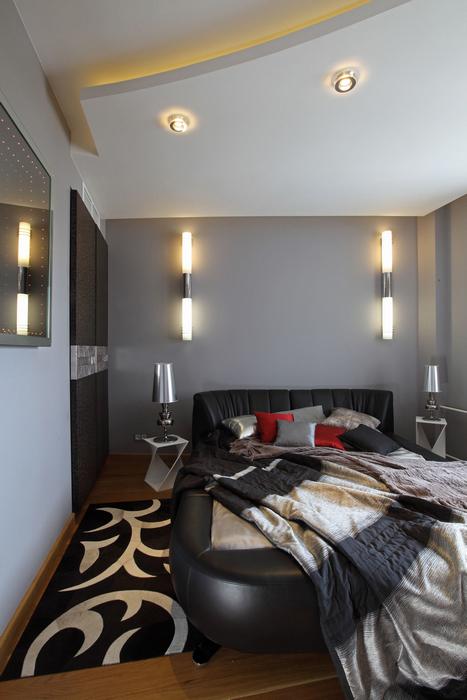 Квартира. спальня из проекта , фото №25442