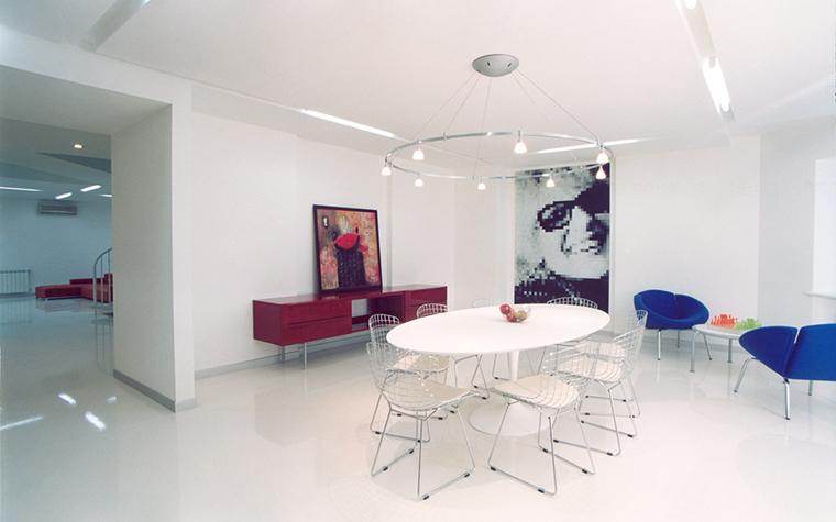 Квартира. столовая из проекта , фото №25633