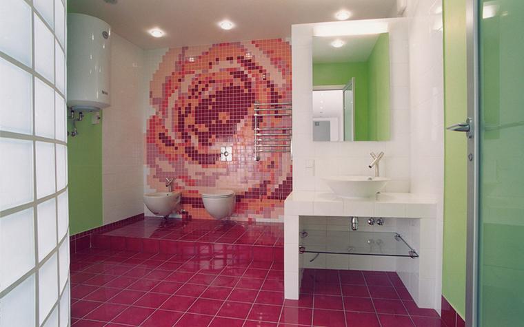 Квартира. ванная из проекта , фото №25636