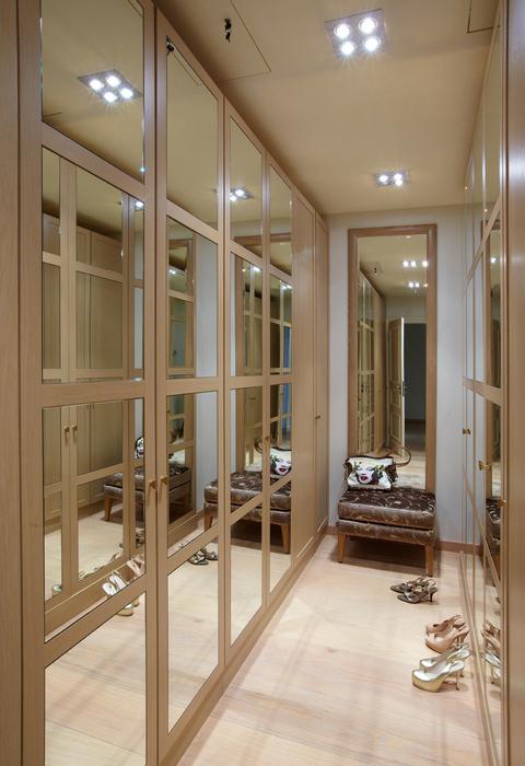 Дизайн гардеробной комнаты - фотогалерея.