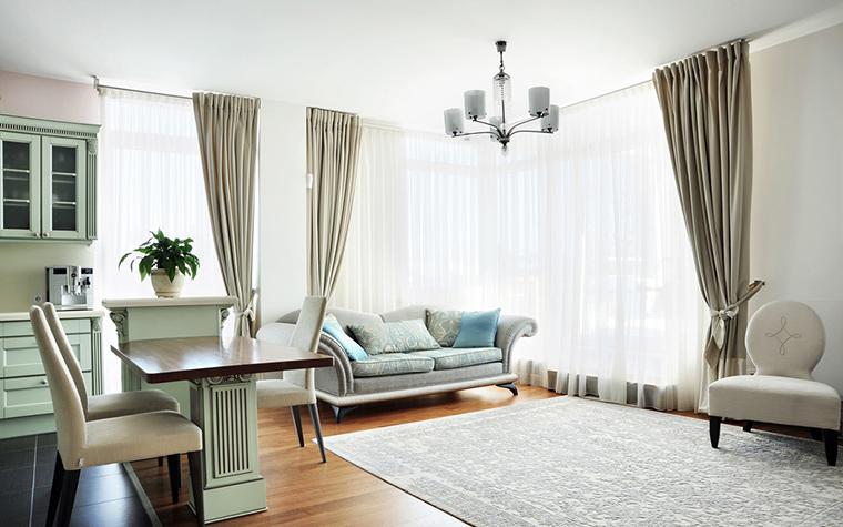 Квартира. гостиная из проекта , фото №25844