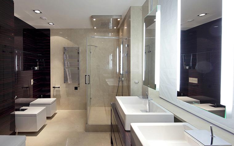 Квартира. ванная из проекта , фото №25903