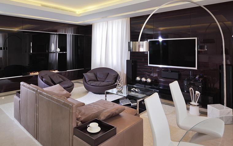 Квартира. гостиная из проекта , фото №25885