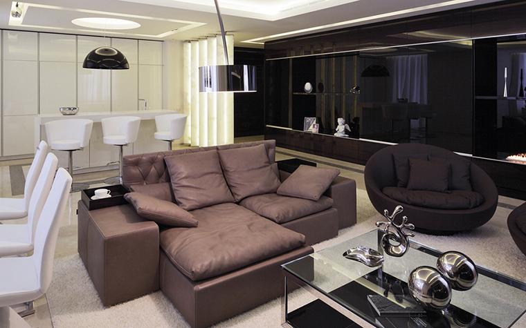 Квартира. гостиная из проекта , фото №25887