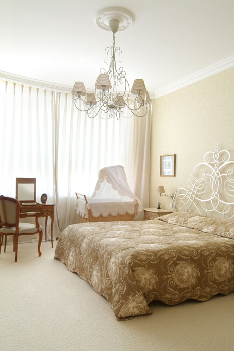 интерьер спальни - фото № 26361