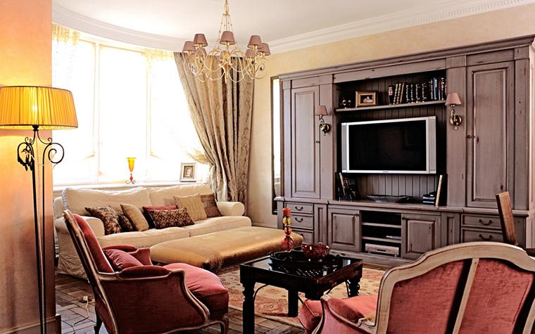 Фото № 26353 гостиная  Квартира