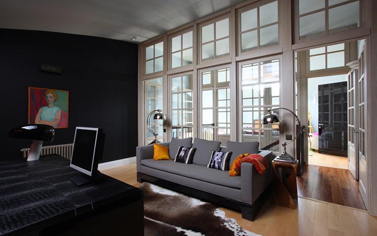 Квартира. кабинет из проекта , фото №25957