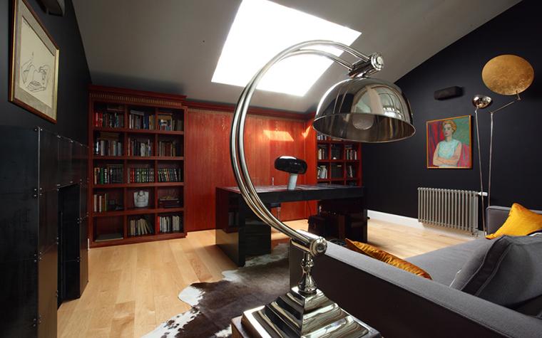 Квартира. кабинет из проекта , фото №25958